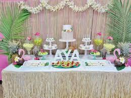 Hawaian Decorations Kara U0027s Party Ideas Hawaiian Birthday Party Via Kara U0027s Party Ideas