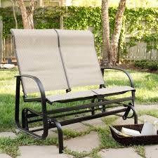 furniture cheap distressed black porch glider bench ideas