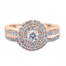 gold wedding rings sets engagement and wedding ring sets