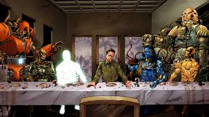 last supper wallpaper wallpapersafari supergod last supper wallpaper 19264