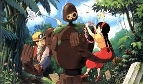 picture of castle in the sky robot miyazaki month castle in the