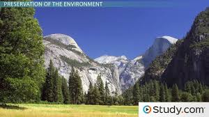 environmental conservation preservation definition