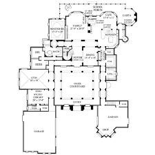 european style house plan 3 beds 3 5 baths 7546 sq ft plan 61