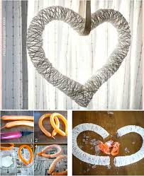 top 35 easy heart shaped diy crafts for valentines day amazing