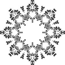 clipart decorative ornamental floral flourish design 11
