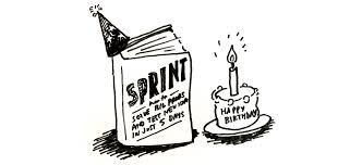 whoa the u0027sprint u0027 book is one year old and the sprint bonus pack