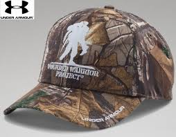armour wounded warrior project camo snap cap mens ua
