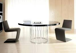 Pedestal Dining Table For 6 Dining Table Black Glass Round Dining Table And 6 Chairs Room