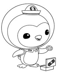 Octonauts Colouring Pictures Coloring Pages Octonauts Coloring Pages