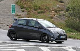 the toyota here u0027s the toyota yaris grmn putting on its dancing shoes