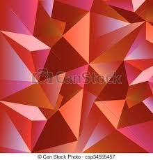 vector illustration of abstract wavy background in red color