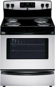Cooktop Electric Ranges Kenmore 94143 5 3 Cu Ft Electric Range W Self Cleaning Oven