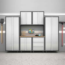 Metal Wall Cabinet New Age Garage Cabinets Newage Products Pro 30 Series 7 Piece