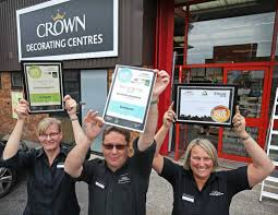 Crown Decorating Centre Jobs Crown Kick Out The Can Success Painting And Decorating News
