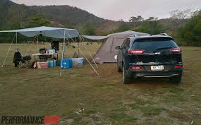 jeep grand cherokee camping 2014 jeep cherokee limited review video performancedrive