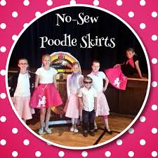 poodle skirt halloween costume easy halloween costumes make a no sew poodle skirt simple