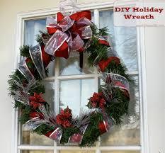 diy craft holiday wreath a cowboy u0027s wife