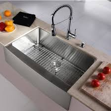 Kitchen Sink Set by Kraus Krs Khf200 33 Kpf1612 Ksd30ch Stainless Steel Farmhouse