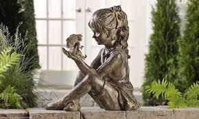 fairy garden statue design toscano pd91546 the secret garden fairy