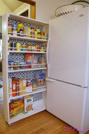 Small Kitchen Pantry Ideas Diy Rolling Pantry Tutorial Diy Home Improvement Pinterest