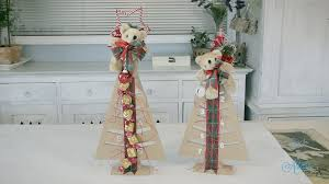 arts u0026 crafts tutorial how to make a chocolate christmas tree