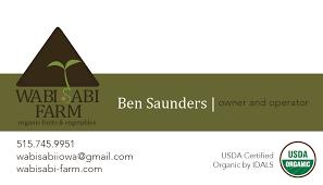 Farm Business Card Melanie Buck