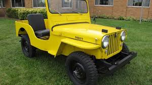 cj jeep yellow 1950 willys cj 3a for sale near troy michigan 48083 classics on