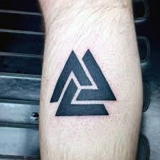 interlocking triangles tattoo pictures to pin on pinterest