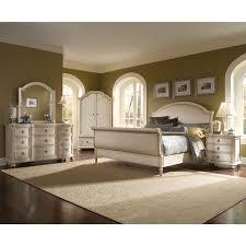 King Sleigh Bedroom Set Creditrestoreus - Grande sleigh 5 piece cal king bedroom set