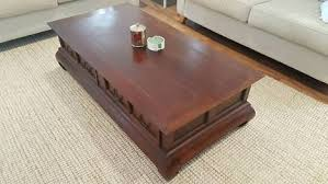 bali style coffee table coffee bali style coffee table coffee tables gumtree australia