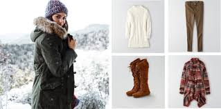 American Eagle Parka Winter Travel With American Eagle Outfitters