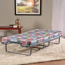 Lucid 4 In Rollaway Twin Size Guest Bed With Memory Foam Mattress