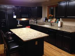 gel stain kitchen cabinets before and after gel stained cabinets goodbye honey oak gold confetti