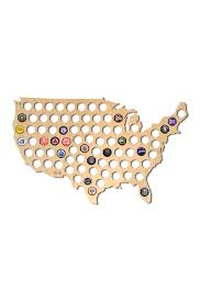 Map Uf Usa by After 5 Large Beer Cap Map Of Usa Nordstrom Rack