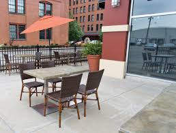 Patio Furniture Pittsburgh Outdoor Dining In Pittsburgh Summer 2014 Edition Whirl Magazine