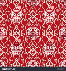 traditional japanese seamless patterns geometric nature stock