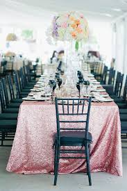 Pink And Black Sweet 16 Decorations Pink Sequin Tablecloth Ballerina Rose Pink Kate Spade