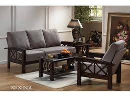 Best Wooden Sofa Sets Images On Pinterest Living Room Designs - Wooden sofa design