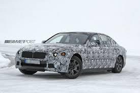 2016 bmw 7 series g11 begins testing will usher in carbon fiber era