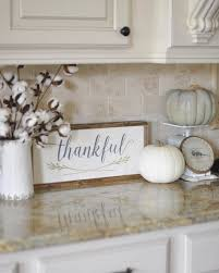 fall kitchen decorating ideas best 25 fall kitchen decor ideas on kitchen counter