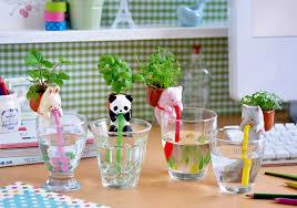 self watering indoor planters self watering animal planters create miniature herb garden on your