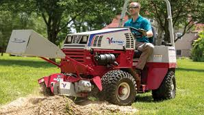 stump grinder rental near me cushman motor company rents attachments for ventrac and steiner