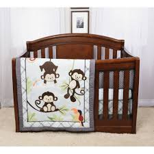 Jungle Baby Bedding Monkey Crib Bedding Set Neat Of Baby Bedding Sets With Bed Sets