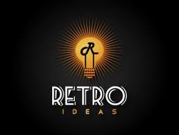 retro lighting company logo design 48hourslogo
