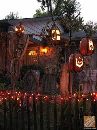 Homemade Halloween Decorations For Outside Halloween Light Ideas Holloween Decor Homemade Halloween