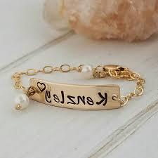 Gold Baby Name Bracelets Gold Baby Bracelet Baby Name Bracelet Caymancode