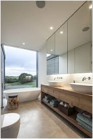 mirror wall bathroom home decorating inspiration