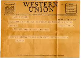 happy birthday telegrams edith hornik digital scrapbook birthday telegram from