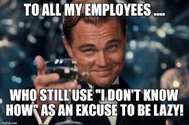 Lazy Worker Meme - leonardo dicaprio cheers meme imgflip