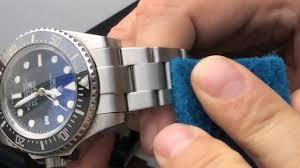 titanium bracelet watches images 3 refinishing pads satin brushed gold steel titanium watch jpg
